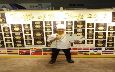 SMKN 7 meraih medali Gold di Malaysia